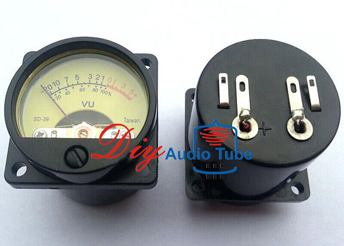 High Performance Tube AMP Parts Audio VU Meter DC / AC 6V - 12V Back Light Voltage SO-39