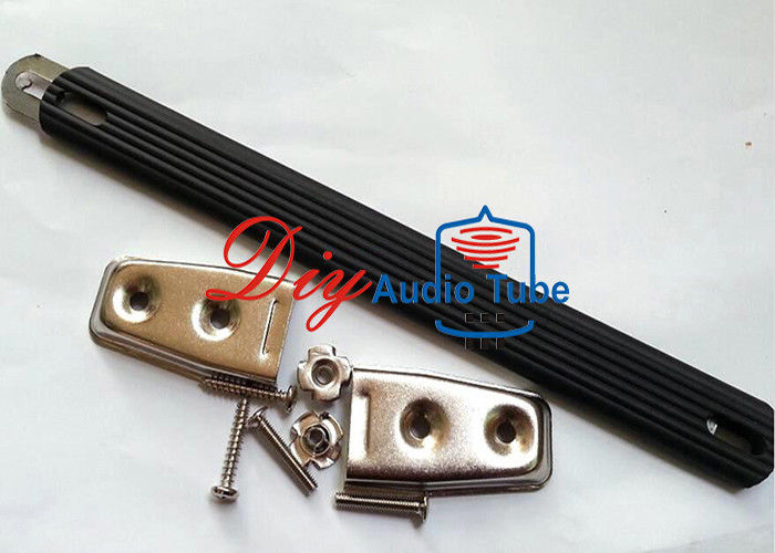 Rubber Black Leather Handles Silver Plated Parts 230mmx22mm Dimension