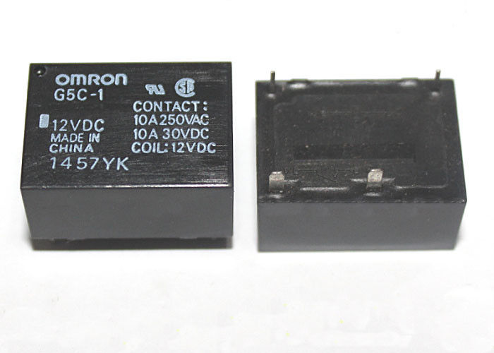 Omron Power Relay G5C-1-12VDC G5C-1-24VDC - 10A (4 Pin)